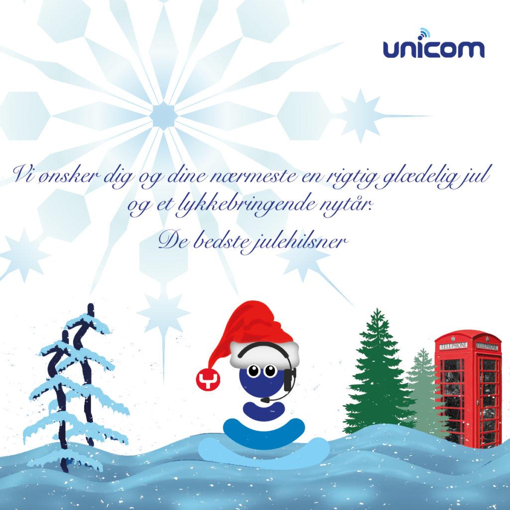 Vi ønsker dig og dine nærmeste en rigtig glædelig jul